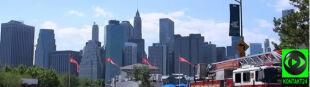 Manhattan skąpany w słońcu