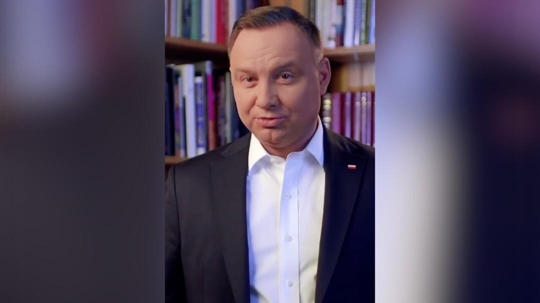 Prezydent Andrzej Duda założył konto na Tik Toku