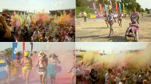 Eksplozja barw, czyli najbardziej kolorowy bieg w stolicy