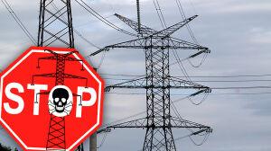 Najpierw blokady, teraz pikieta. O co chodzi w sporze o linię 400 kV?