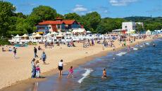 Kąpiel w Bałtyku to test na wytrzymałość. Miejscami woda ma tylko 15 stopni