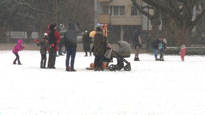"""Śnieg w Szczecinie. """"W końcu mogliśmy zobaczyć trochę zimy"""""""
