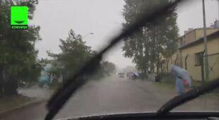 Ulewa nad Władysławowem (Kontakt 24/adbi321)