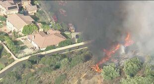 Pożar Skyline w Kalifornii